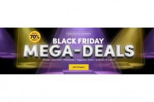 Bild von <b>Wayfair</b><br> Black Friday Mega Deals bis zu 70 % Rabatt</br>
