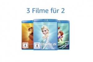 Bild von <b>Amazon</b><br>3 für 2 auf Disneyfilme</br>