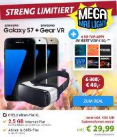 Bild von Otelo Allnet Flat XL (2,5 GB Datenvolumen) für 29,99 € + Samsung Galaxy S7 für 5 € oder mit zusätzlicher Virtual Reality Brille für 49 €