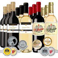 Bild von [Plus] Casa del Valle Probierpaket, 12 Flaschen (alle prämiert) für 45,90€ inkl. Versand