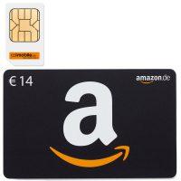 Bild von 14,00 Euro Amazon-Gutschein durch Callmobile SIM-Karte für 2,95 Euro