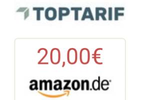 Bild von 2x 20€ Amazon.de-Gutschein* für Strom- und Gasanbieterwechsel
