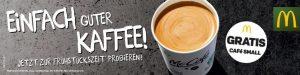 Bild von Gratis Kaffee Small bei McDonalds zur Frühstückszeit