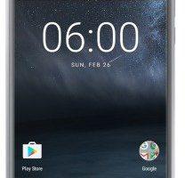 Produktbild von Nokia 6 32GB silver white Dual-SIM Android 7.1 Smartphone