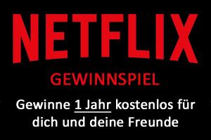 Bild von NETFLIX Gewinnspiel – Ein Jahr für dich und deine Freunde Netflix GRATIS!