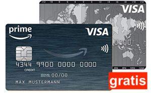 Bild von Die perfekte Shopping-Kredit-Karte von Amazon: Gratis Visa Kreditkarte + 70€ Startguthaben + bis zu 3% Cashback bei jedem Einkauf