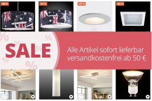 Produktbild von Riesiger Lampen Sale! Bis zu 89% Rabatt auf tausende Angebote!
