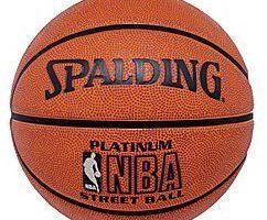 Produktbild von Rakuten SuperDeal: Spalding Official NBA Platinum Street Basketball