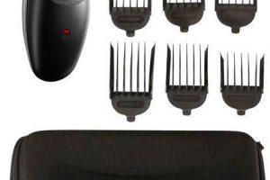 Produktbild von Remington Haar- und Bartschneider HC363C – Stylist, inkl. Zubehör, Premiumqualität und innovative Technologien, schwarz