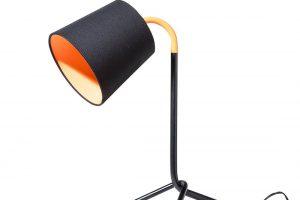 Produktbild von Beliani Tischleuchte schwarz 42 cm MOOKI