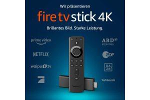 Produktbild von Amazon Fire TV Stick 4K mit Alexa-Sprachfernbedienung