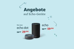 Produktbild von Amazon Alexa Echo Aktion – Echo Dot, Plus, Show, Fire TV, Kindle – alles reduziert – ab 24,99 (Bis zu 30% Rabatt)
