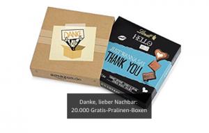 Bild von Wahnsinn. Hier bekommt ihr Lindt-Pralinen in einer Special Edition gratis!  Es fallen nur die VSK an (3€) – schnell sein – nur 20.000 Stück!