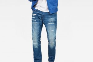 Produktbild von G-Star RAW | Neu | Herren | 3301 Straight Tapered | Denim Jeans