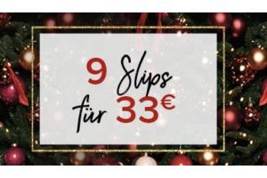 Produktbild von 9 sexy Slips für nur 33€