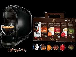 Bild von Media Markt – TCHIBO Cafissimo Pure Kapselmaschine + 60 Kapseln (Espresso, Tee, Filterkaffee, Caffè Crema) für 29 € versankostenfrei statt 46 €