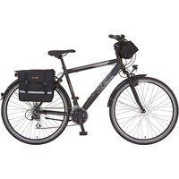 Produktbild von REX Bike Trekkingrad Expedition, 24 Gang Shimano Acera Schaltwerk, Kettenschaltung schwarz 28 Zoll (71,12 cm)