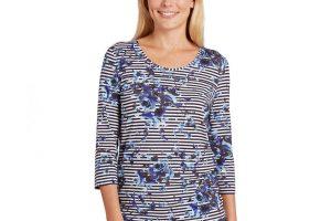 Produktbild von Betty Barclay Shirt – Damen – blau/weiß/gestreift