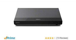 Bild von Amazon – Sony UBP-X500 4K Ultra HD Blu-ray Disc Player (Dolby Atmos, HDMI) für 99 € inkl. Versand anstatt 162 €