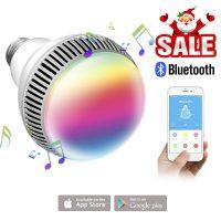 Bild von morpilot Musik Leuchtmittel mit Bluetooth, Smart E27 für 11,39 € statt 18,99 € @amazon