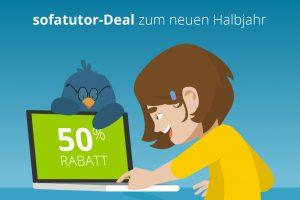 Produktbild von Exklusiver Rabatt! Spare bis zu 120€ bei sofatutor.com (1. Monat gratis + 50% dauerhafter Rabatt!)