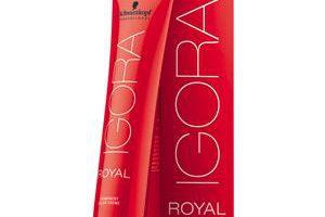 Produktbild von Schwarzkopf Professional Haarfarben Igora Royal Permanent Color Creme 1-0 Schwarz 60 ml
