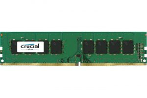 Produktbild von 16GB Crucial CT16G4DFD824A DDR4-2400 DIMM CL17 Single