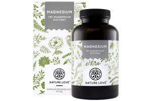 Produktbild von NATURE LOVE® Magnesium – 2250mg Premium Magnesiumcitrat