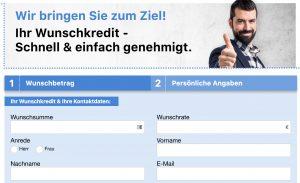 Bild von Unverbindliche Kreditanfrage ab 1000€ in nur 3 Minuten