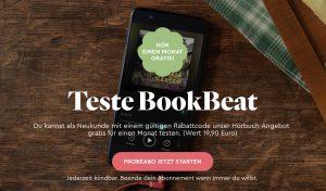 Bild von BookBeat – Hörbuch Flatrate einen Monat gratis testen