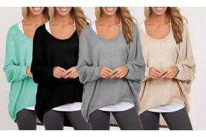 Produktbild von Gestrickter Oversize-Pullover in der Farbe nach Wahl für Damen