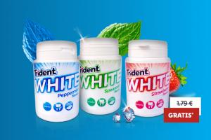 Produktbild von Gratis Testen: Trident White Kaugummi bei LIDL