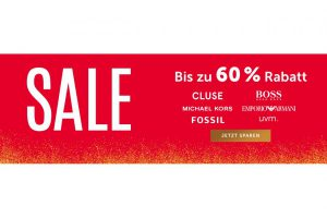 Bild von Schmuck Sale – 60% Rabatt auf Cluse, Fossil, Michael Kors, etc.
